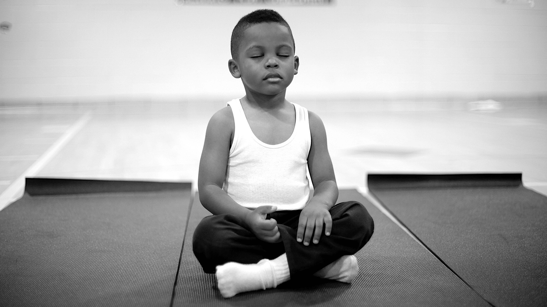 Terps Help Youth Through Yoga
